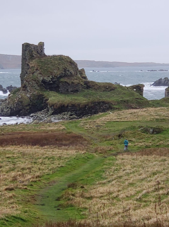 Dun Naomhaig Castle