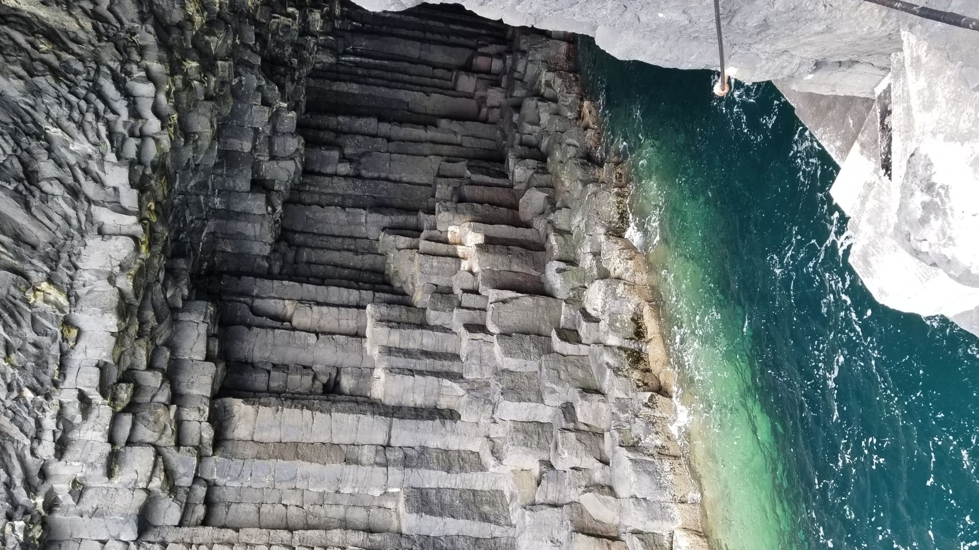 Fingals cave...isle of Staffa