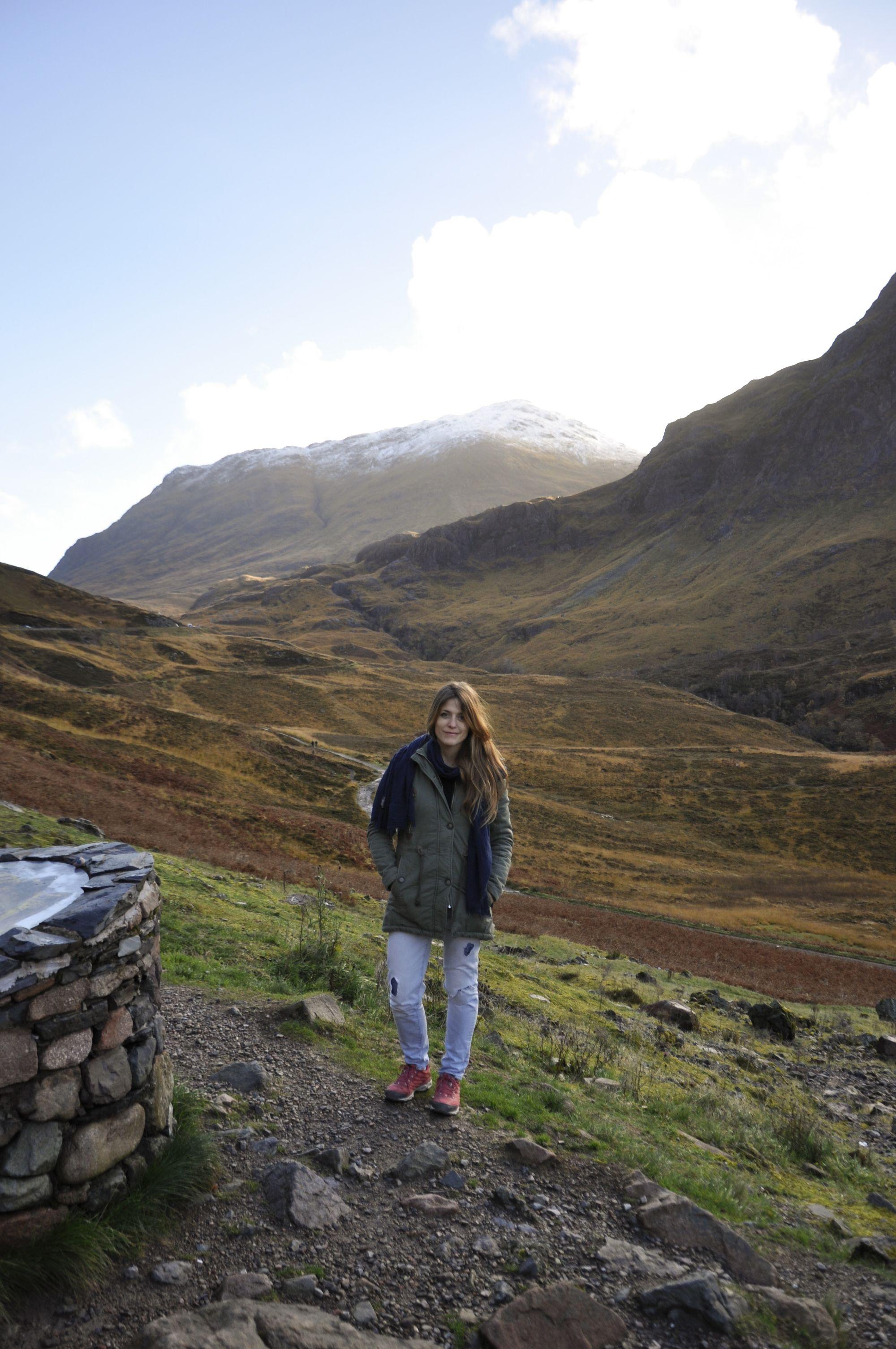 Me (Simona) and the Highlands