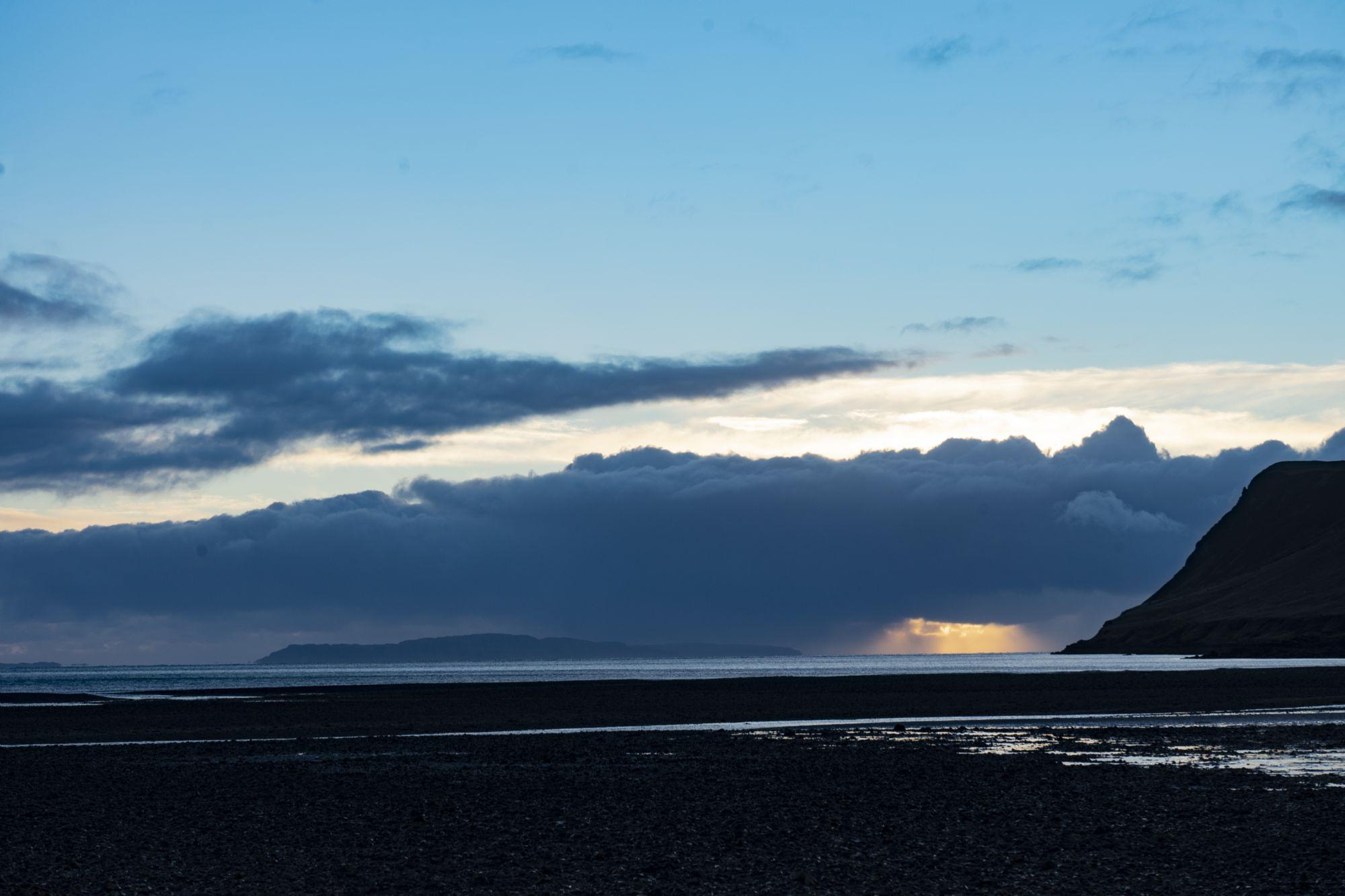 Sunset on Skye