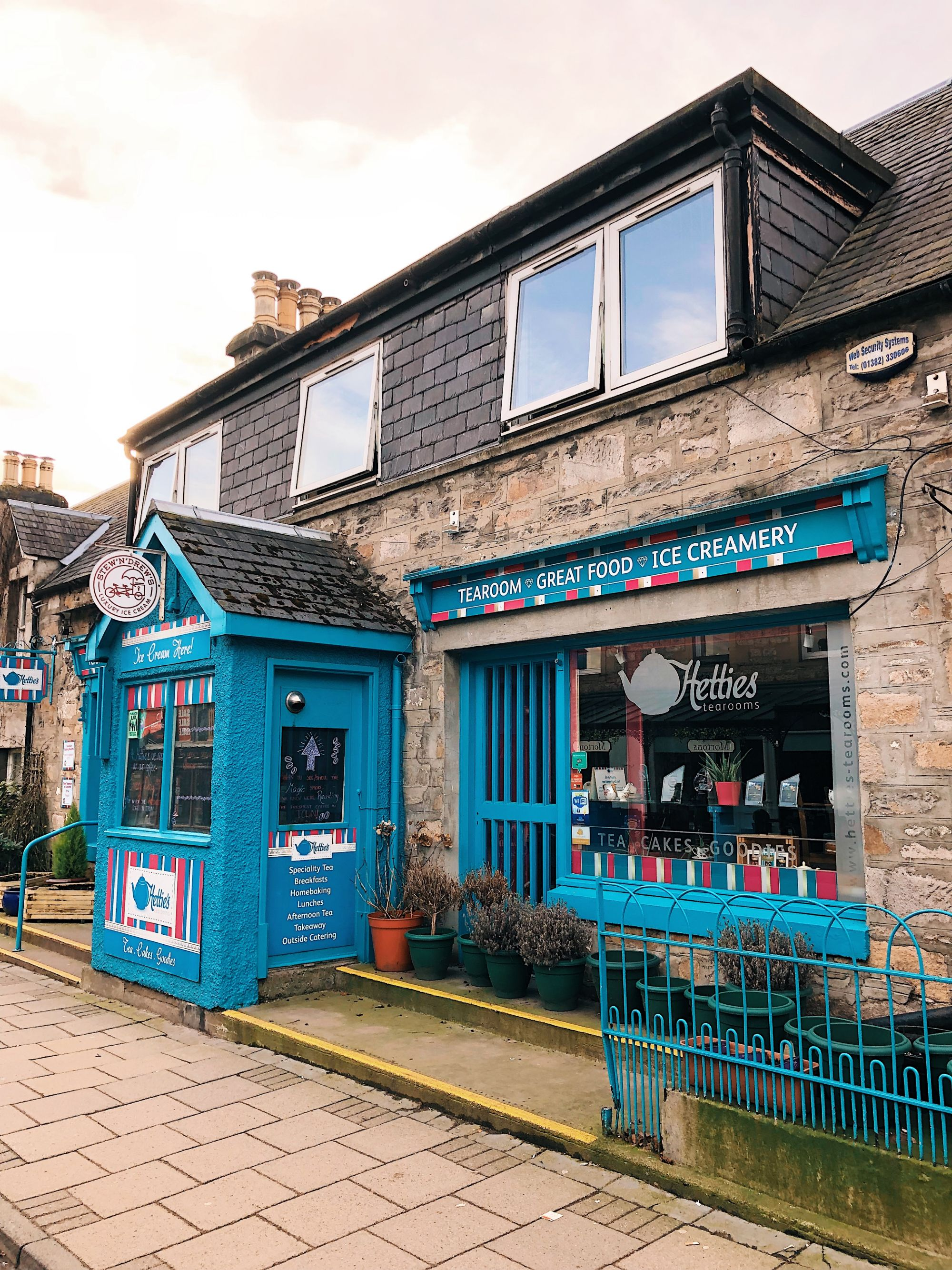 A shop in Pitlochry