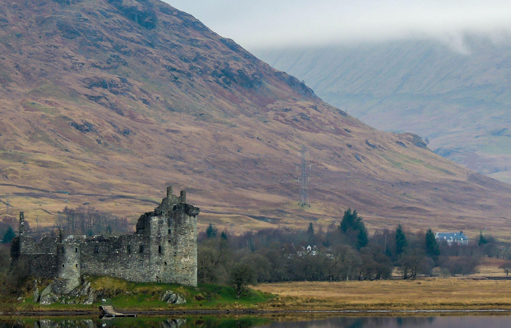 Klichum castle - Loch Awe
