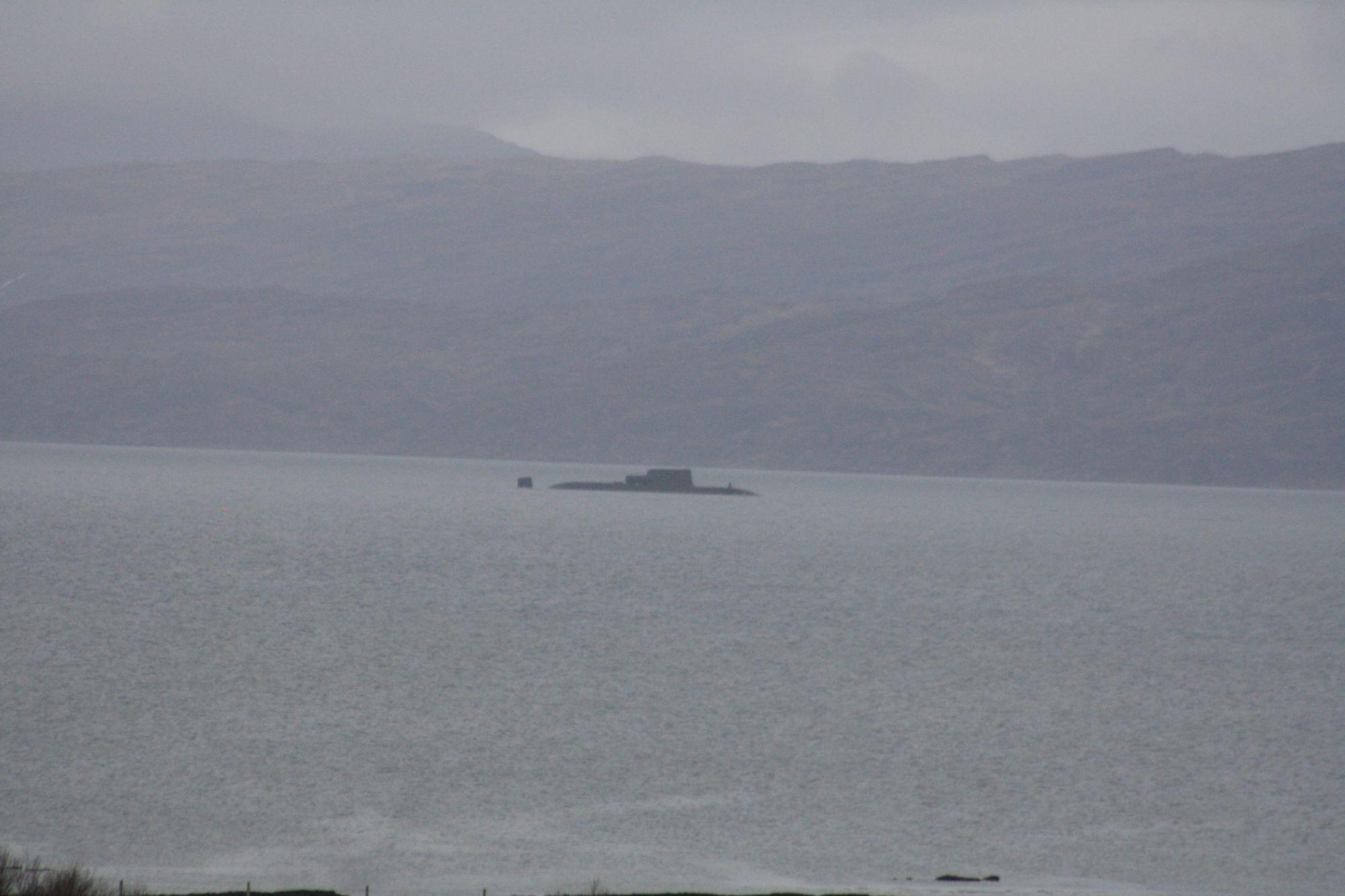Sub off Skye