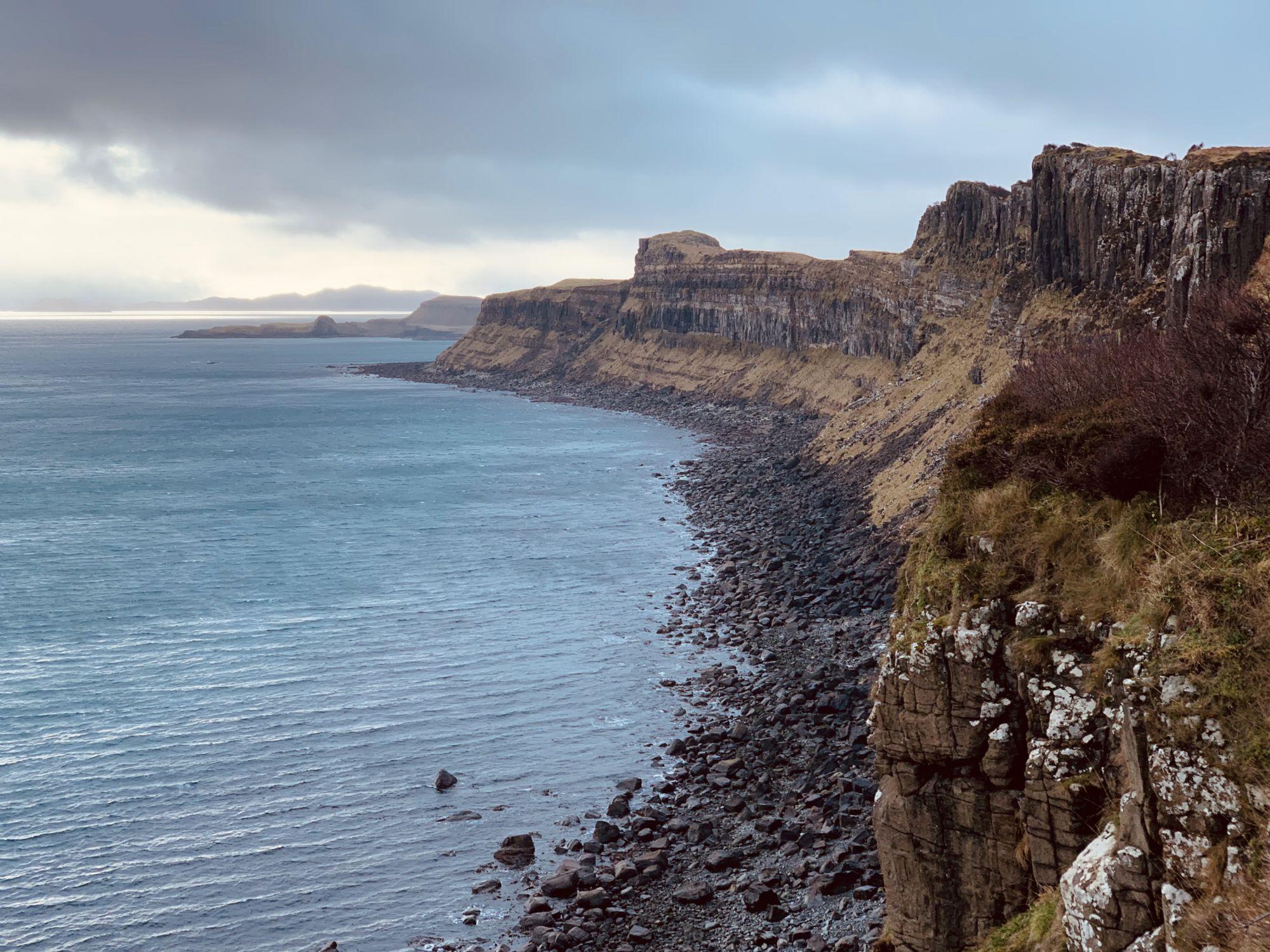 The coastline of Skye