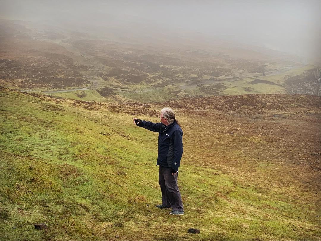Ian leads us through the mist