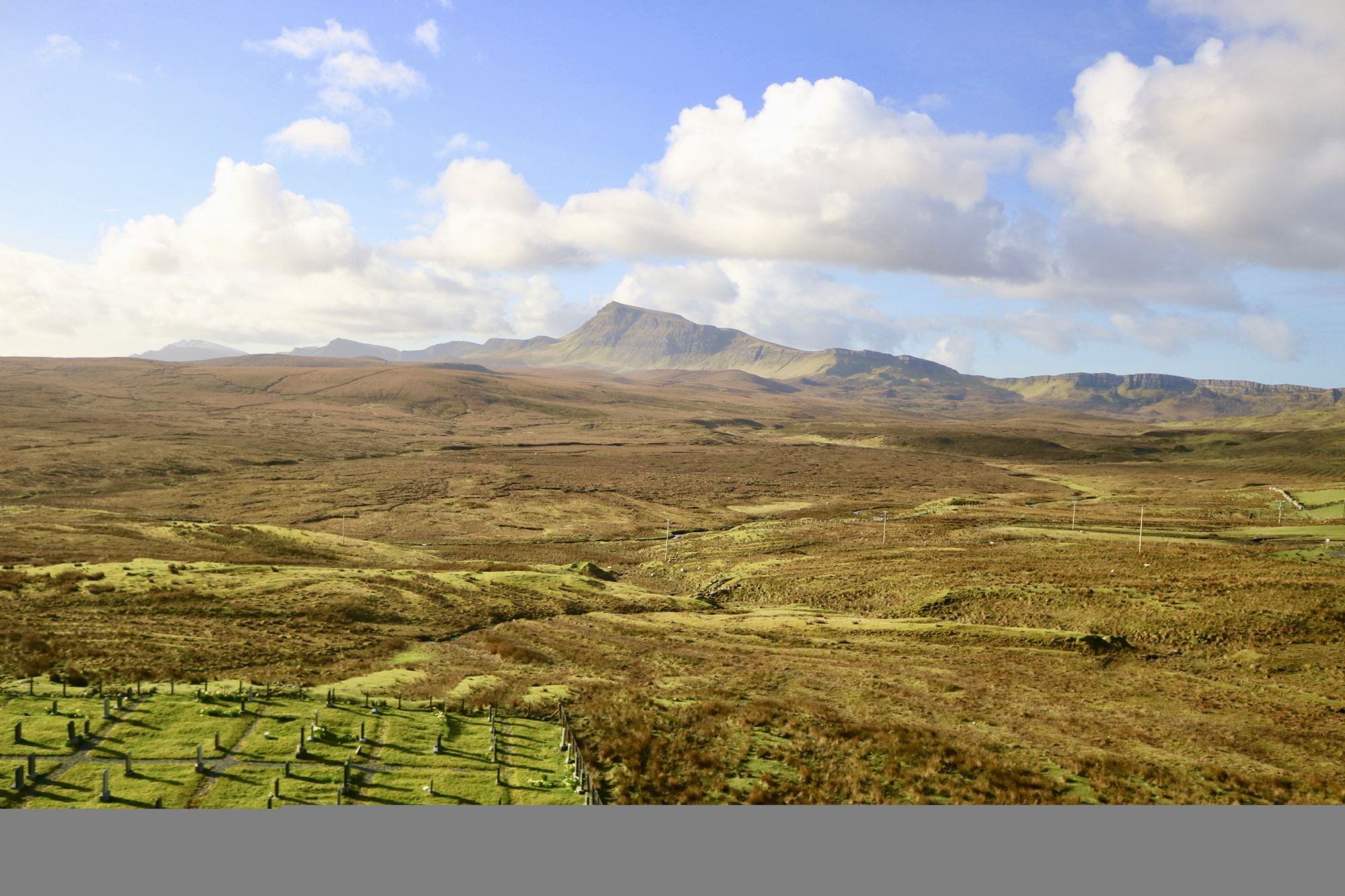 Enroute to the Quiraing
