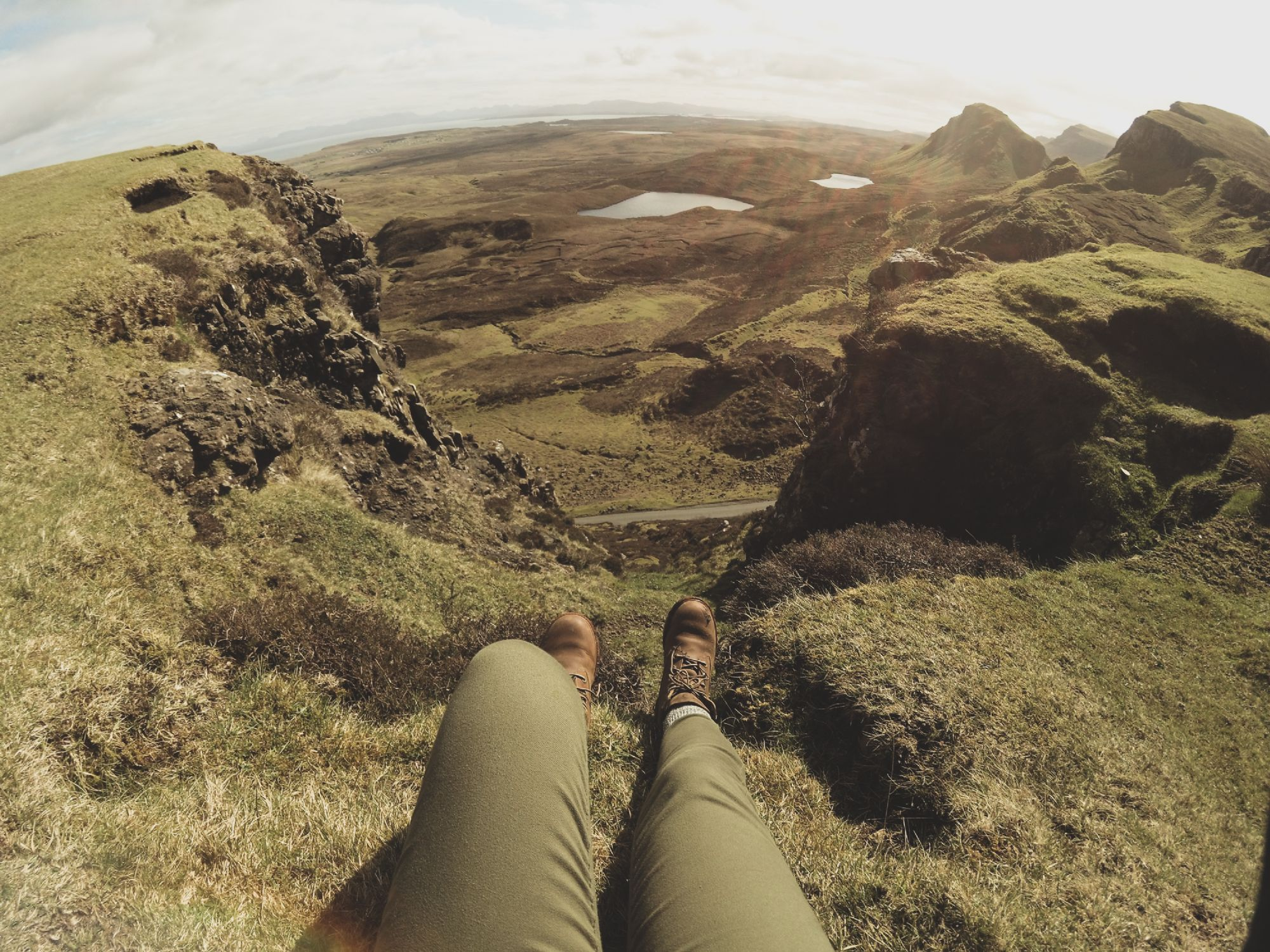 Enjoy the view in Quiraing