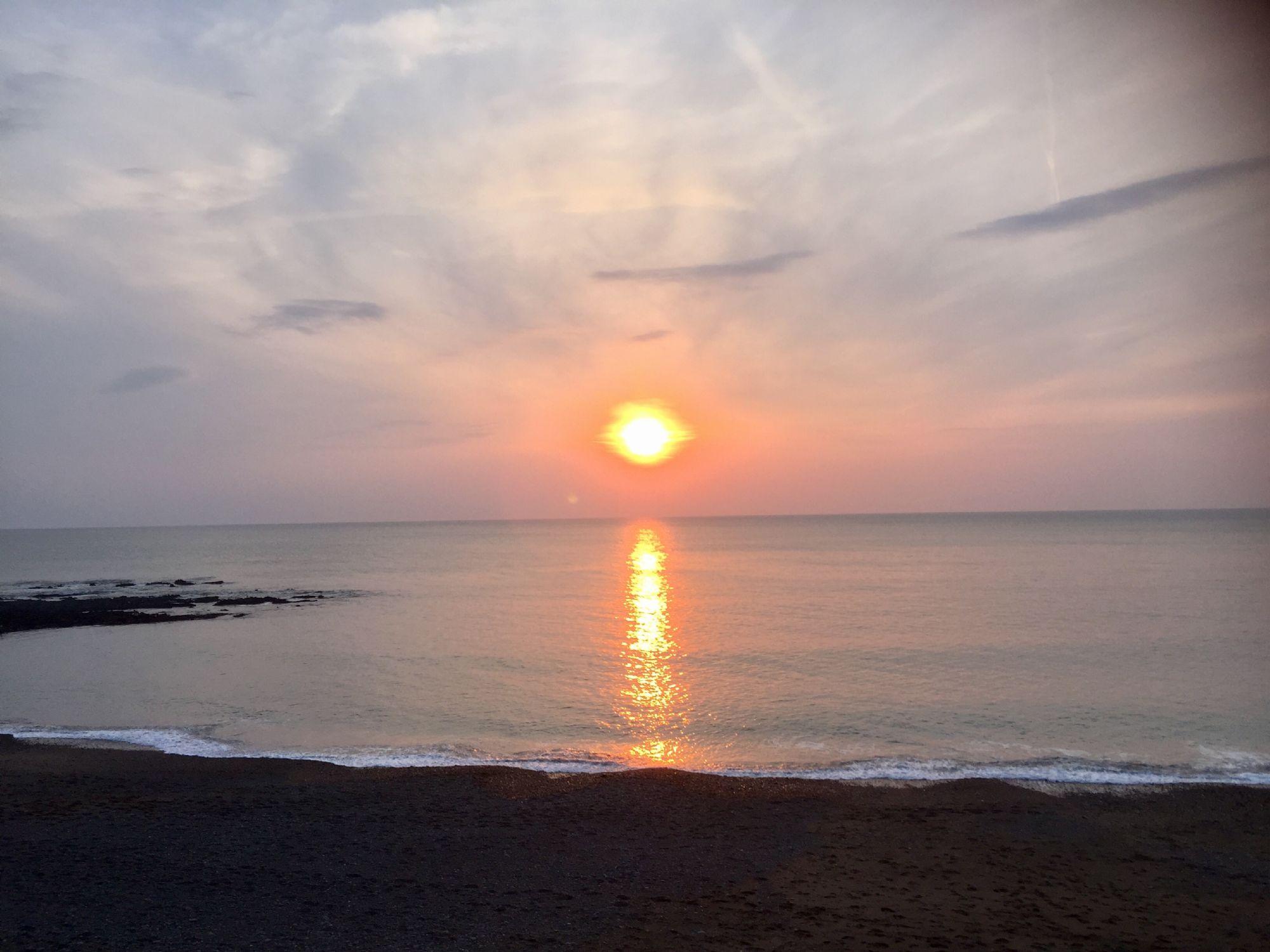 Sunset at Aberystwyth