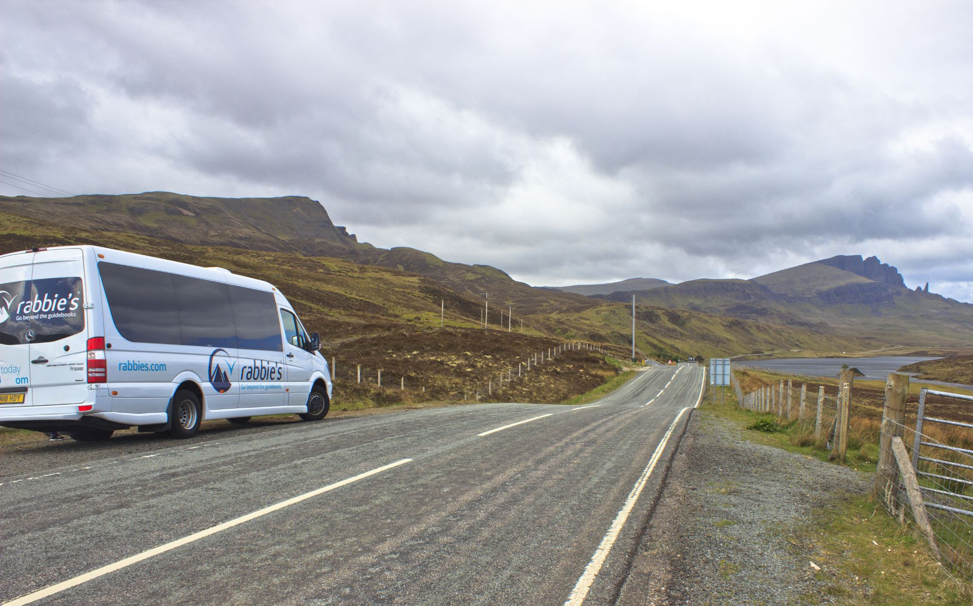 On our way to Trotternish!