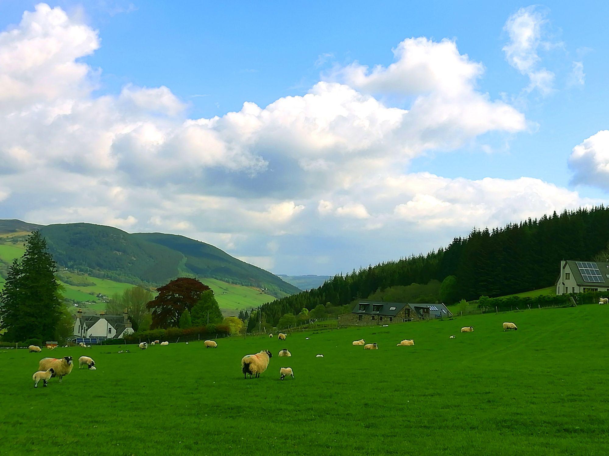 A tranquil Scottish village