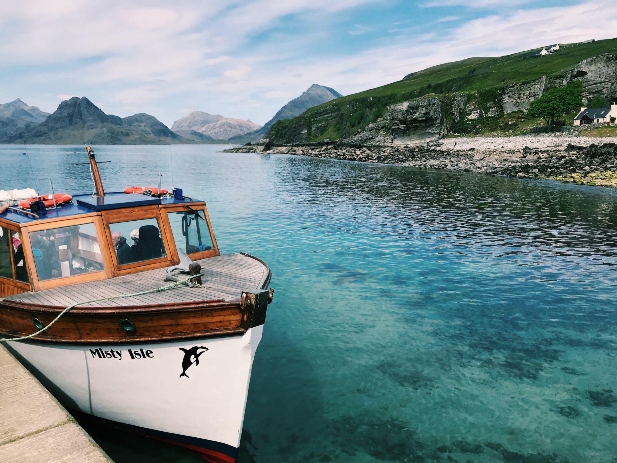 Misty Isles boat