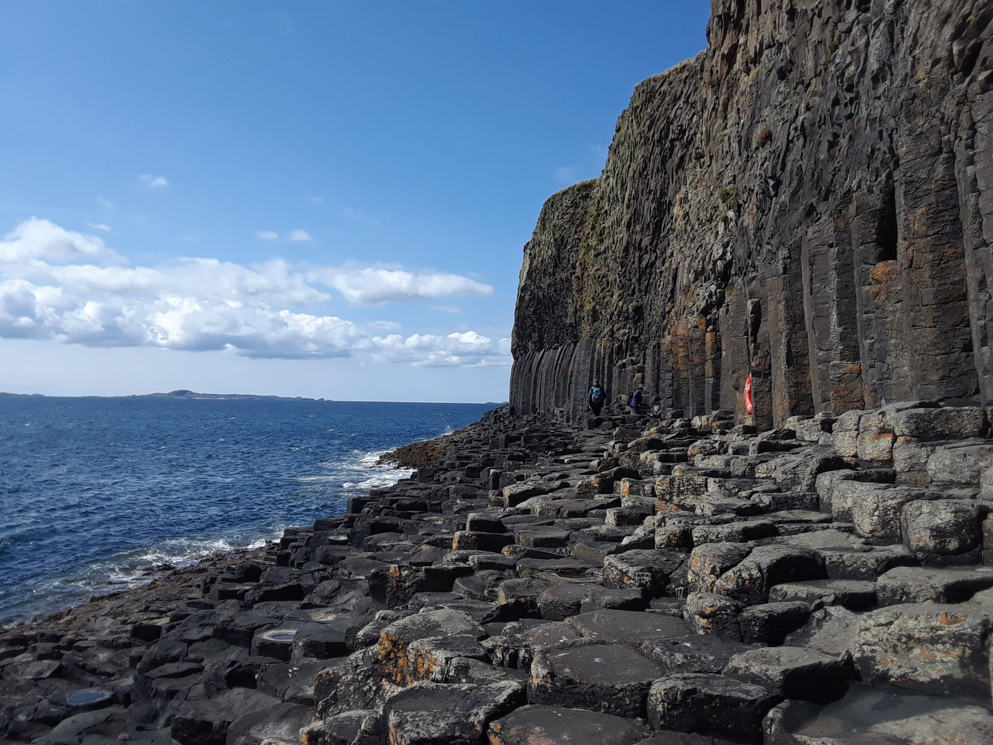 Path to Fingals Cave