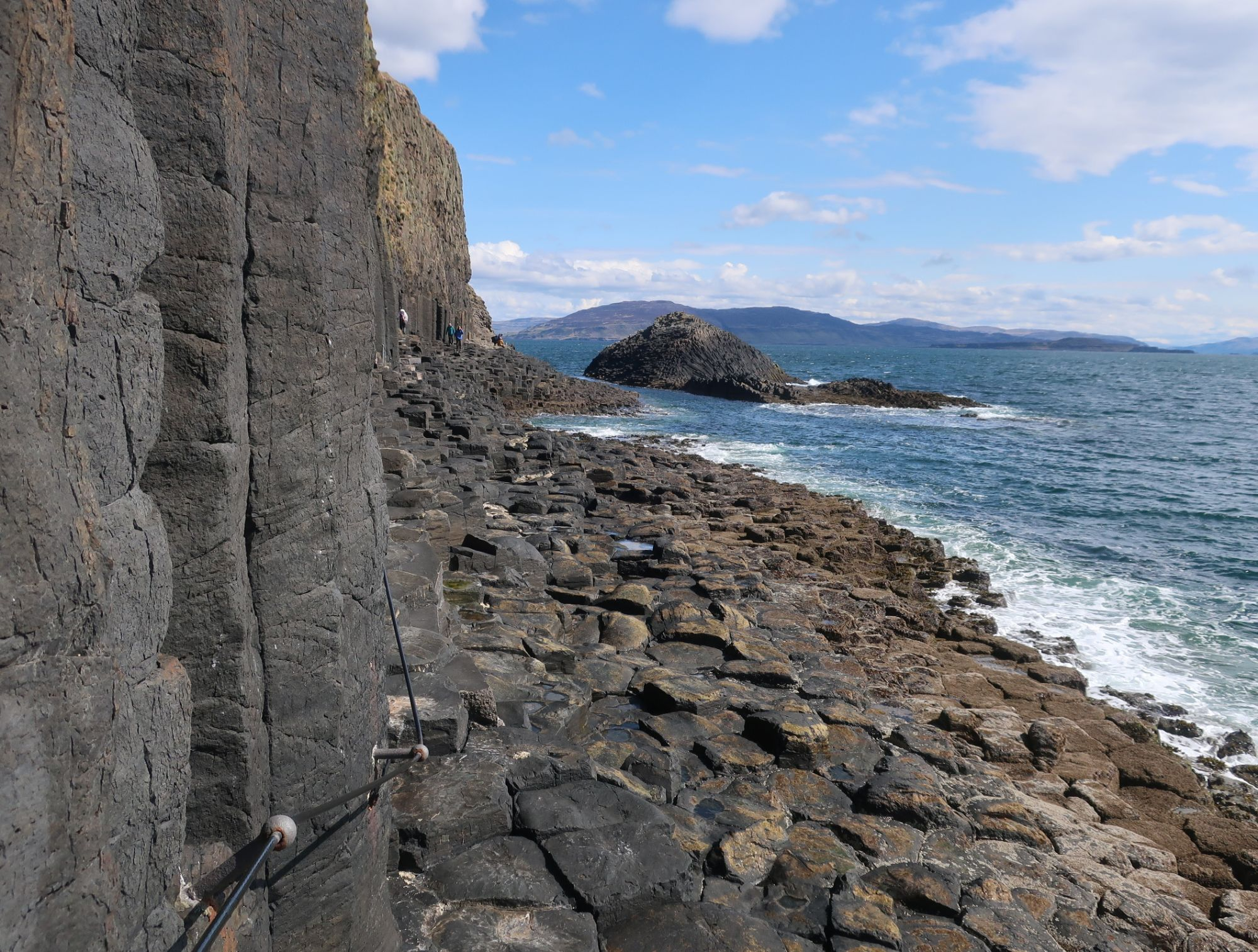 Path from Fingals Cave