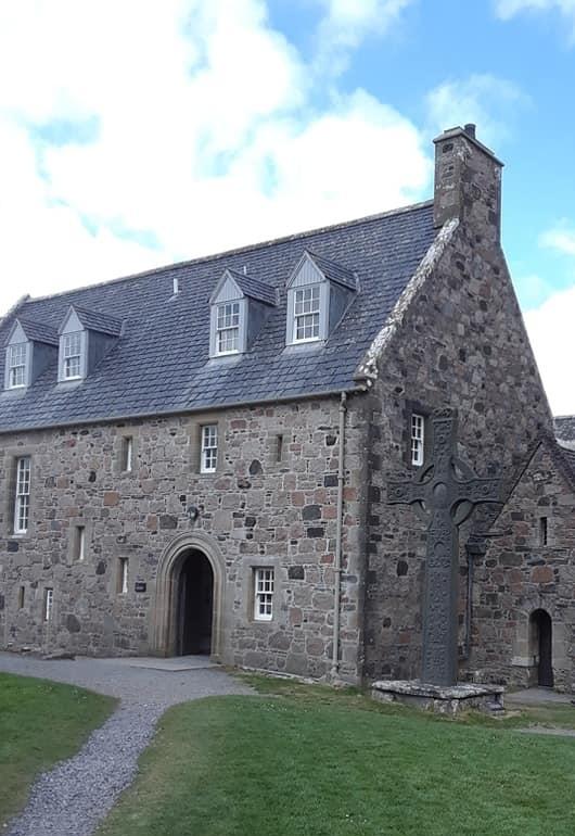 Iona Abbey Celtic Cross