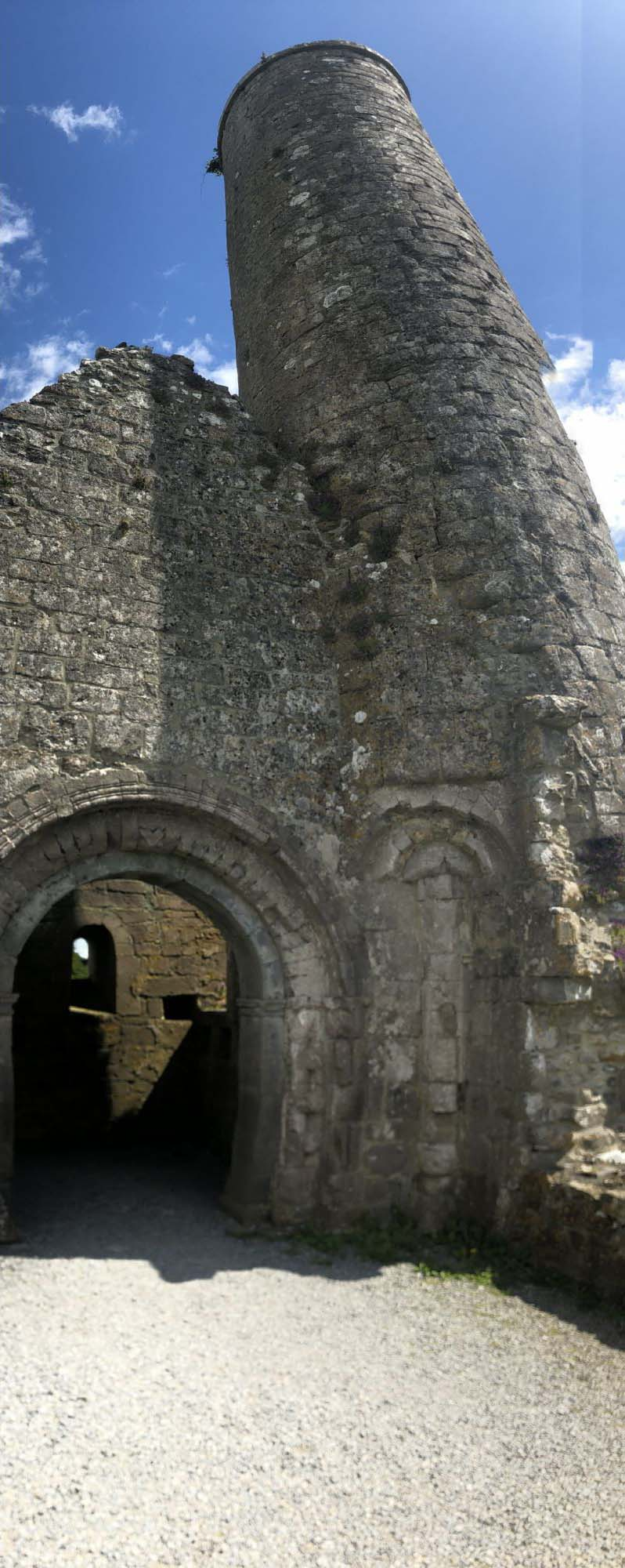 Tower at Clonmacnoise.