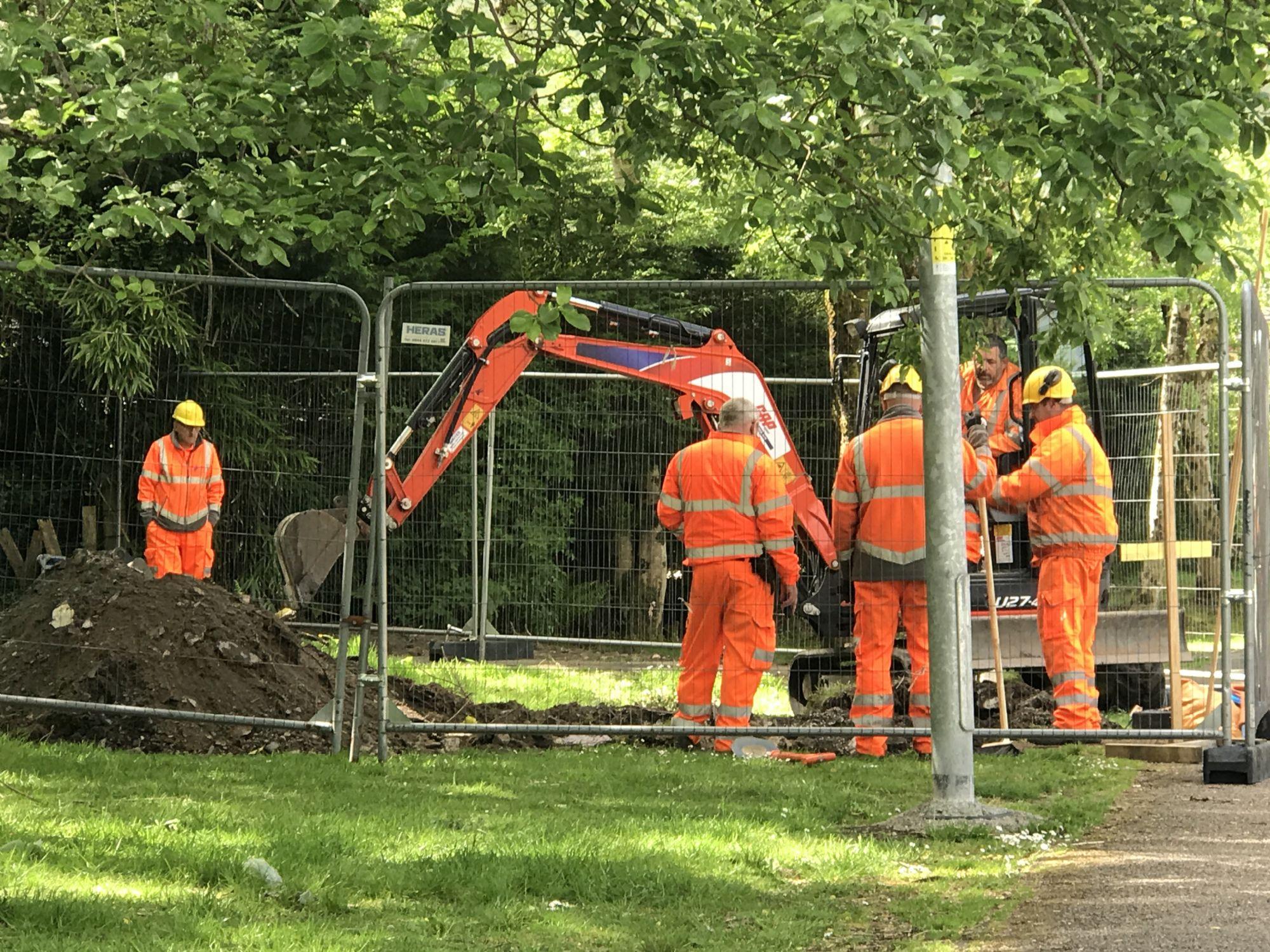 Scottish workforce in action