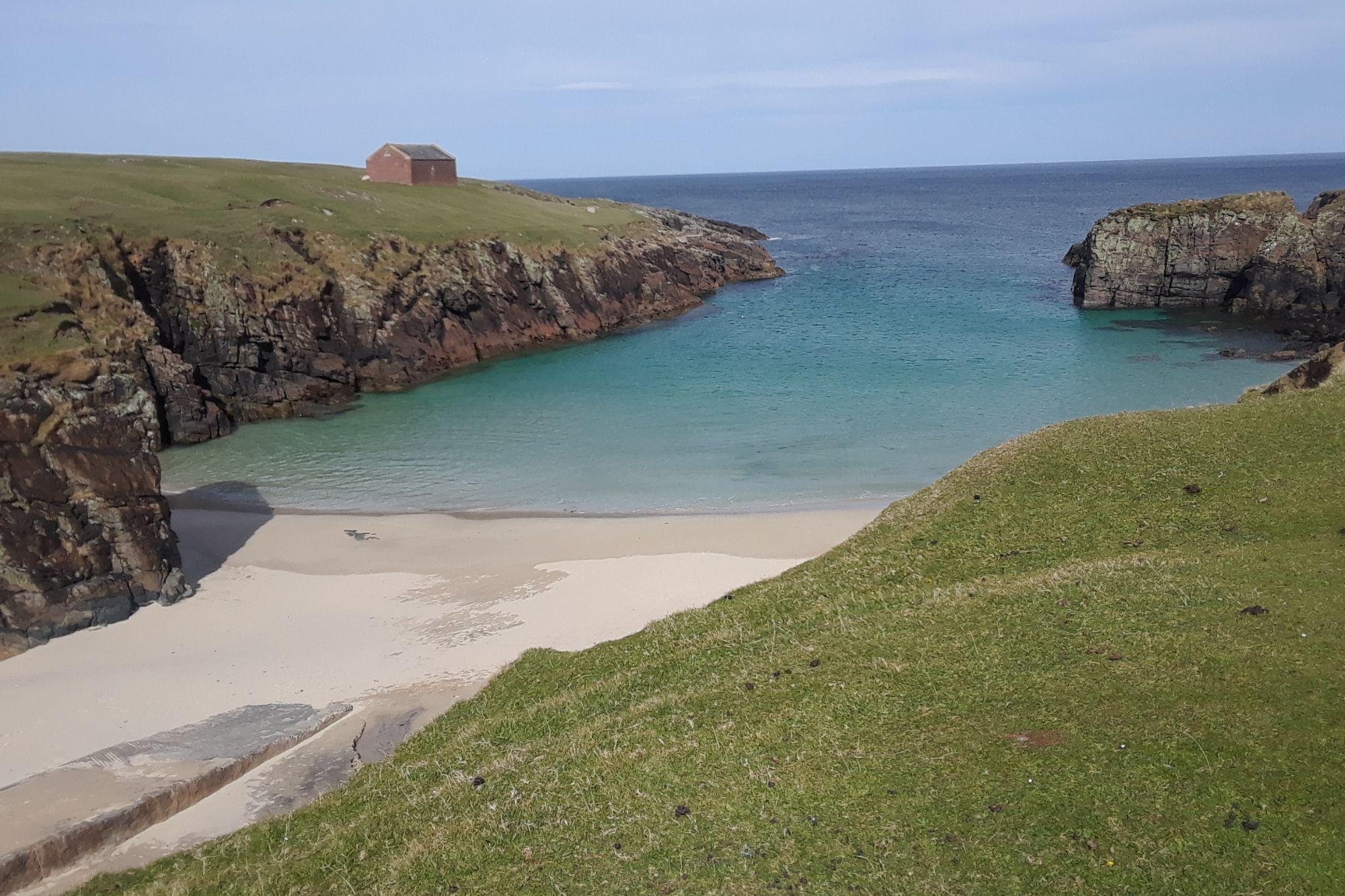 Beach on Lewis