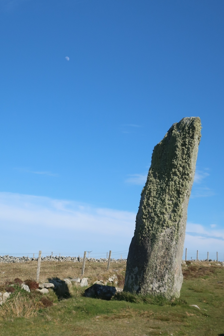 Moon and Standing Stone