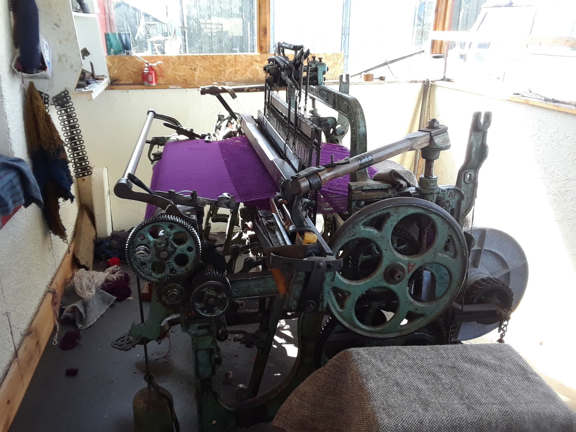 Loom at Carloway Harris Tweed
