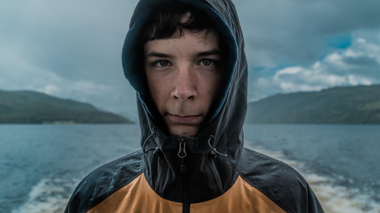 My Brother on Loch Ness