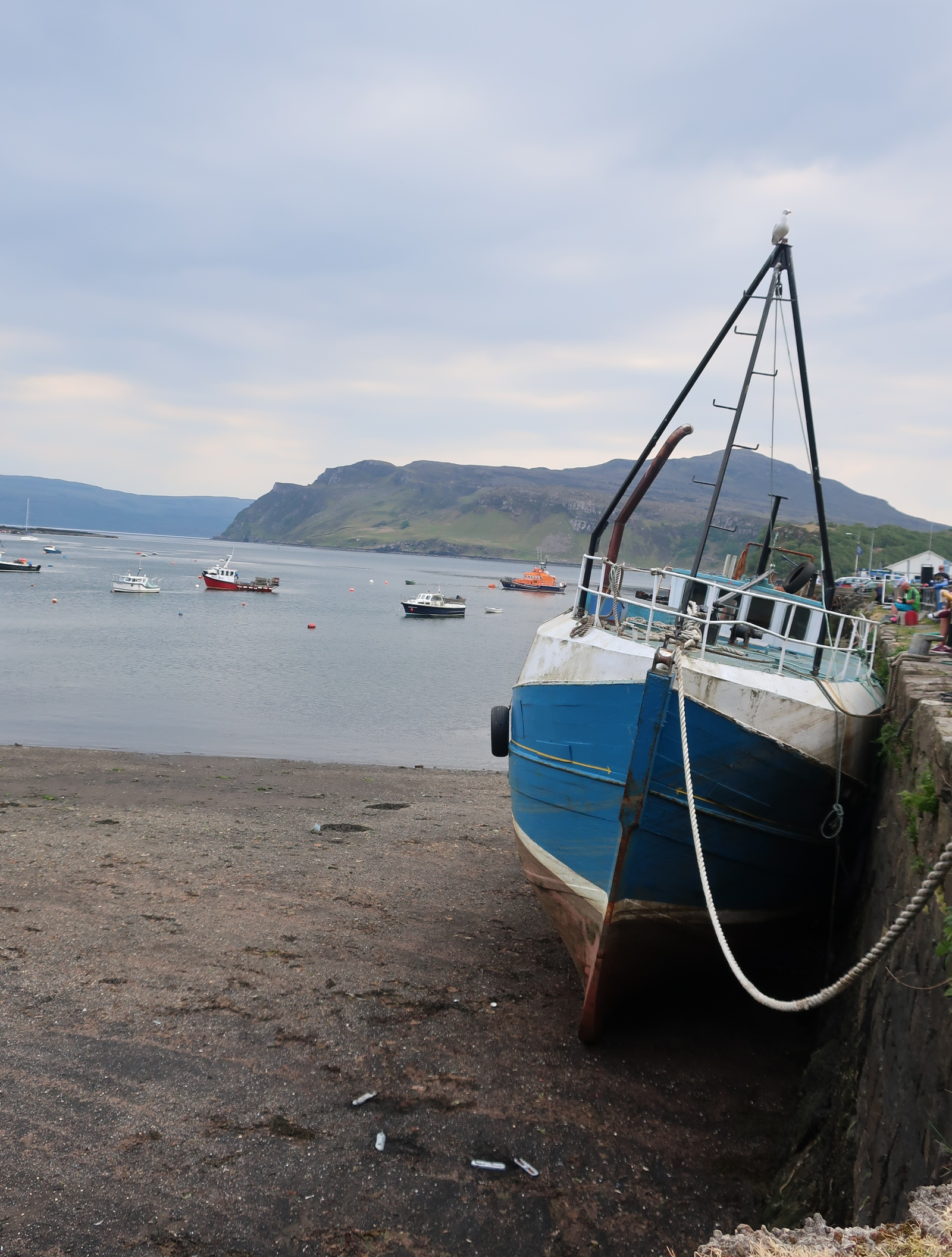 Boat in Portree Harbour