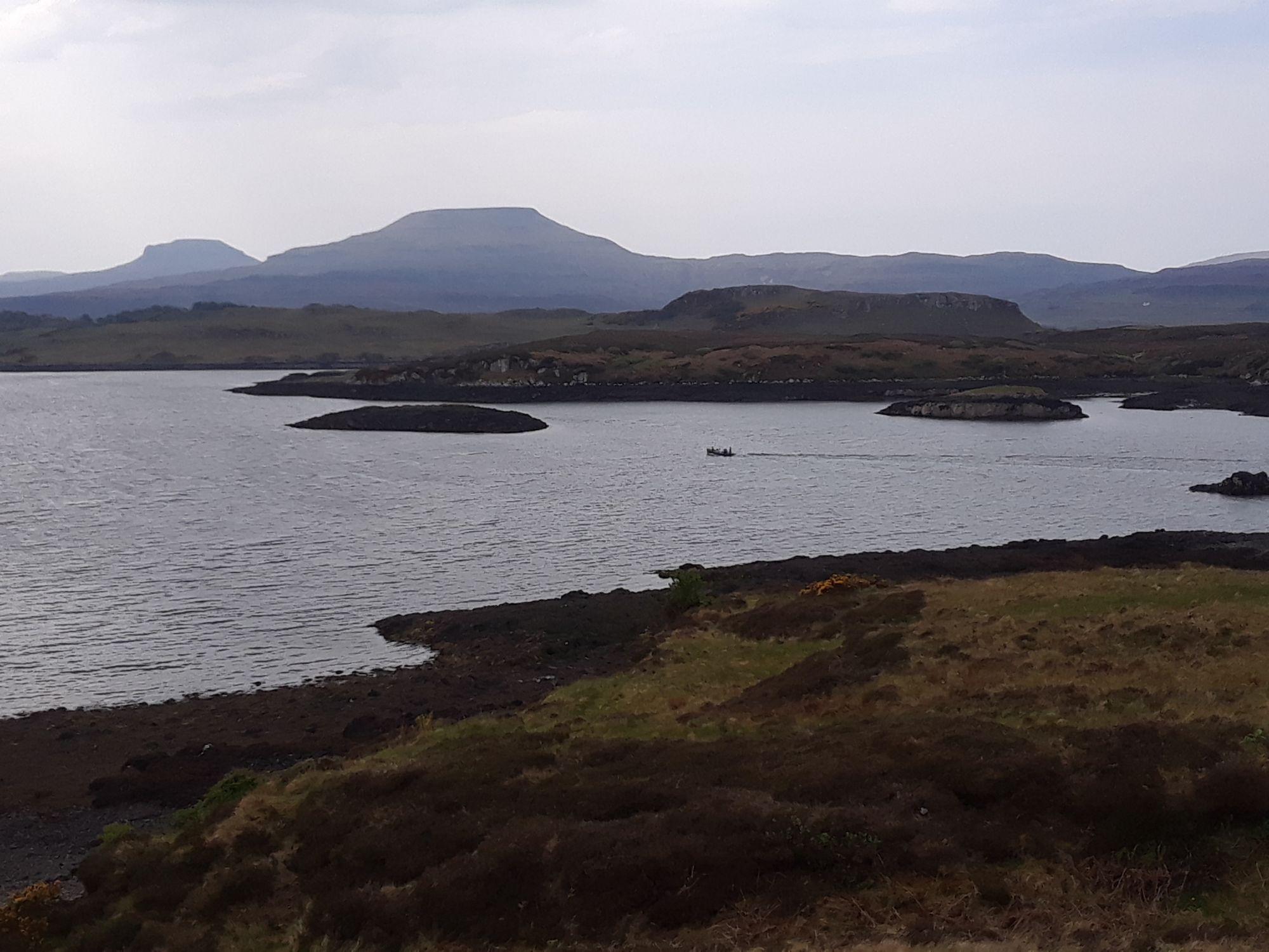 View near Dunvegan Castle