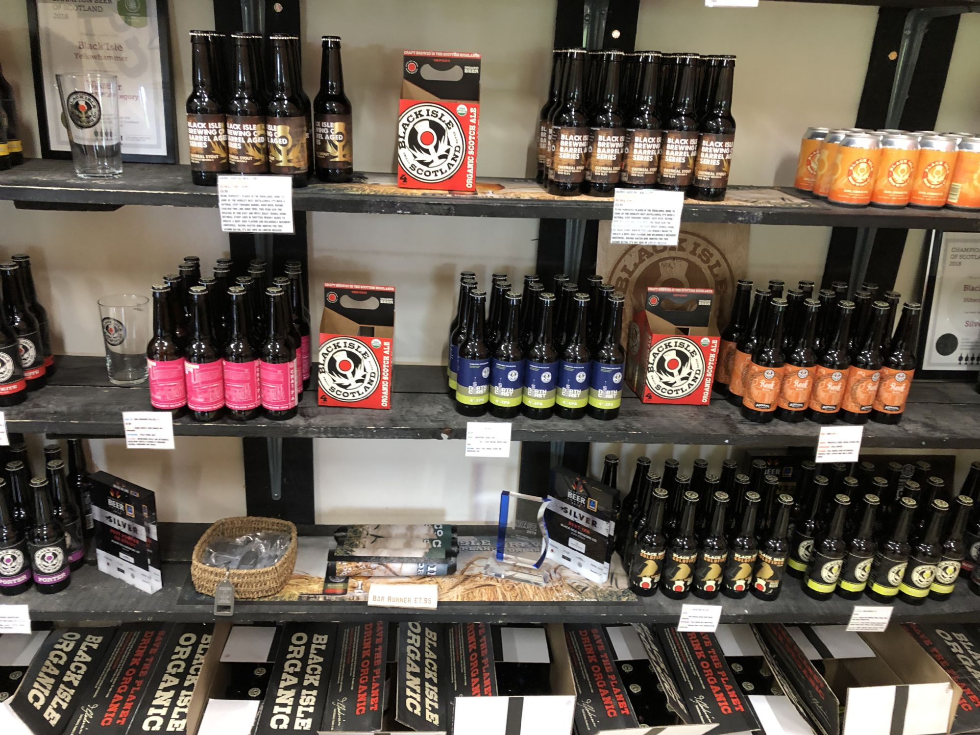 Black Isles Organic Beer