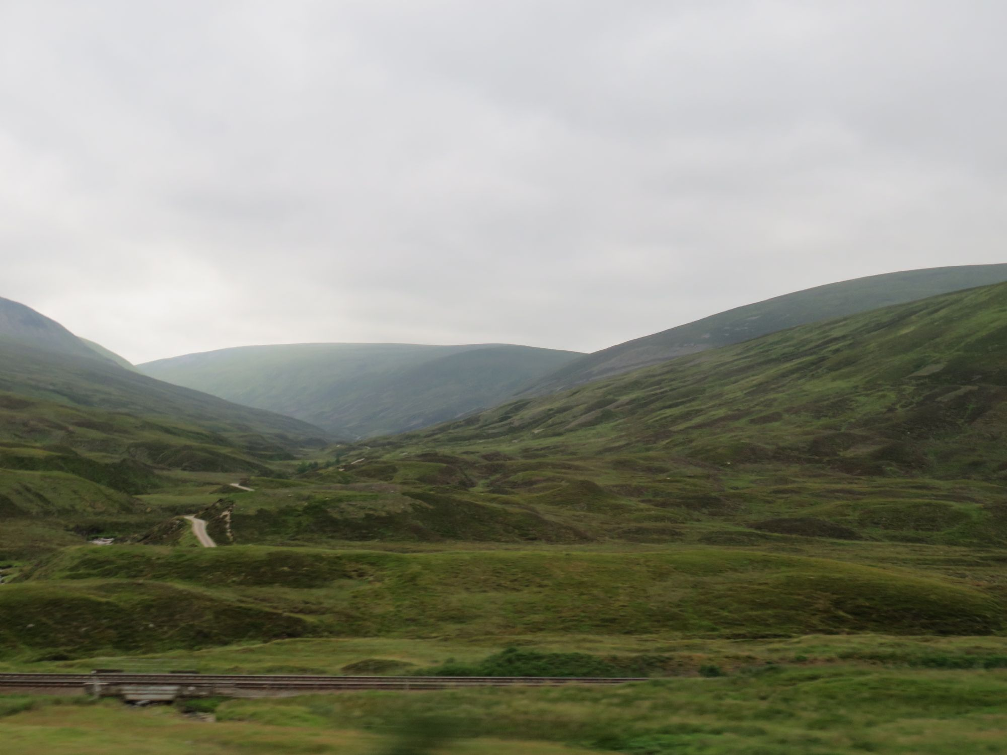 entering the Highlands