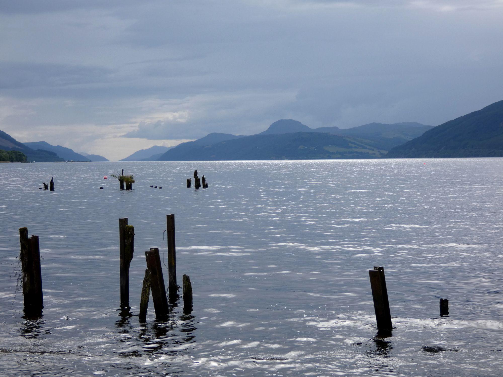 Calmness on Loch Ness