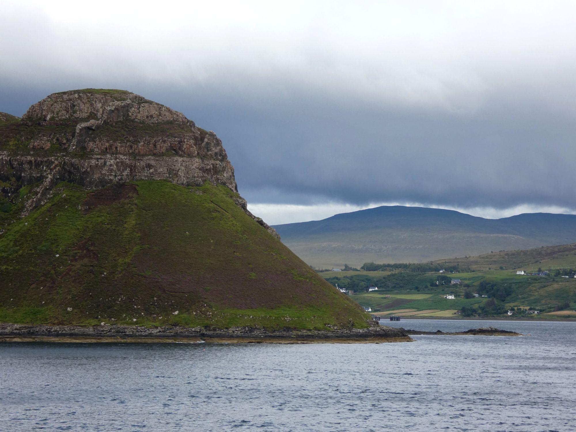 Approaching Uig, north Skye