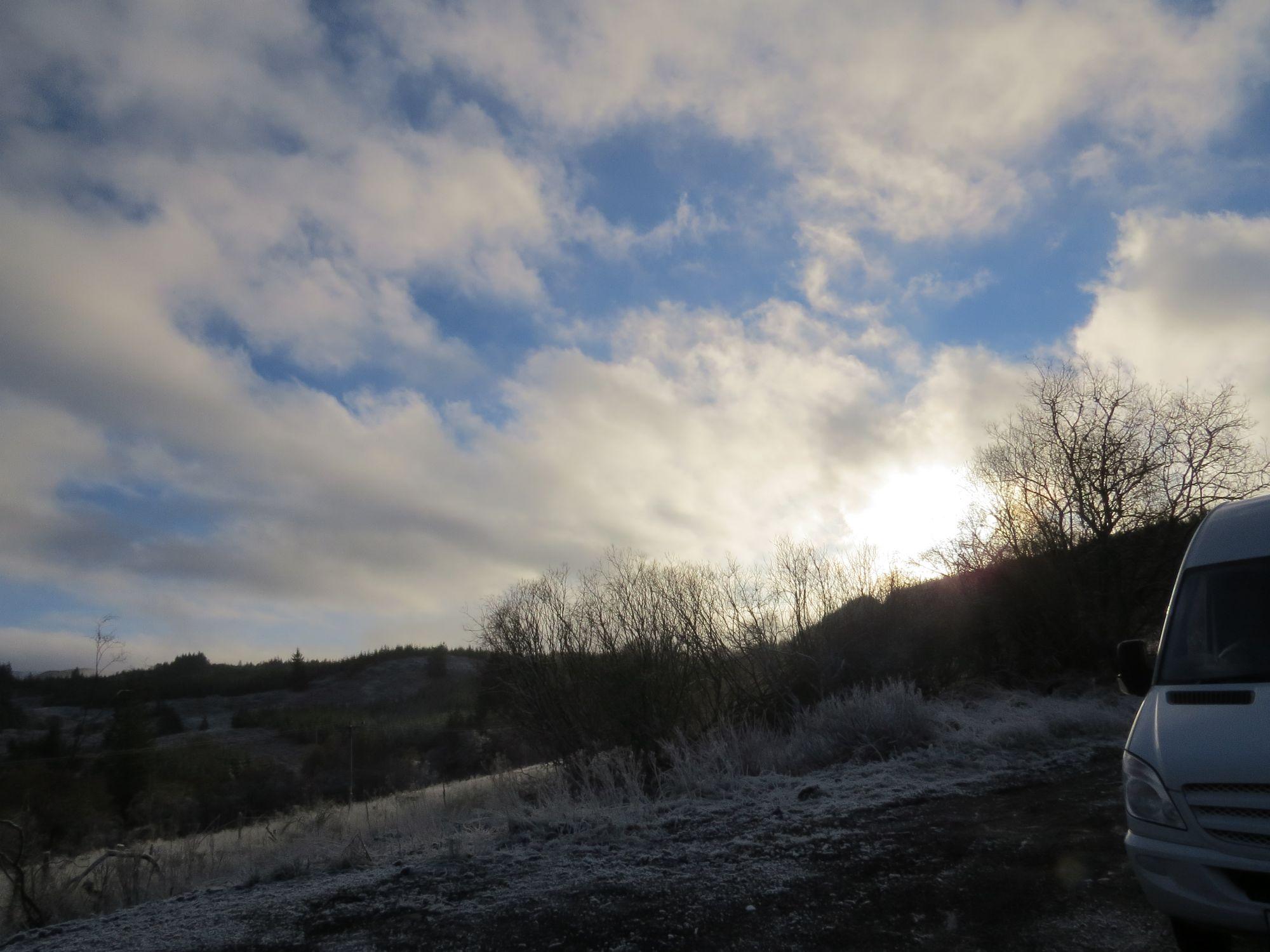 A bit before Loch Awe
