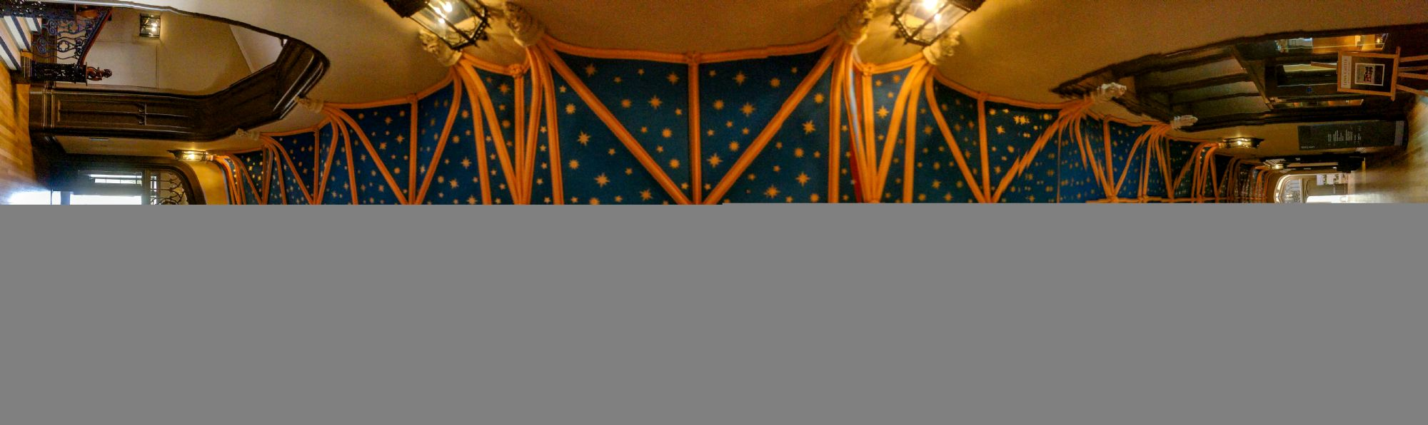 Storonoway Palace Ceiling