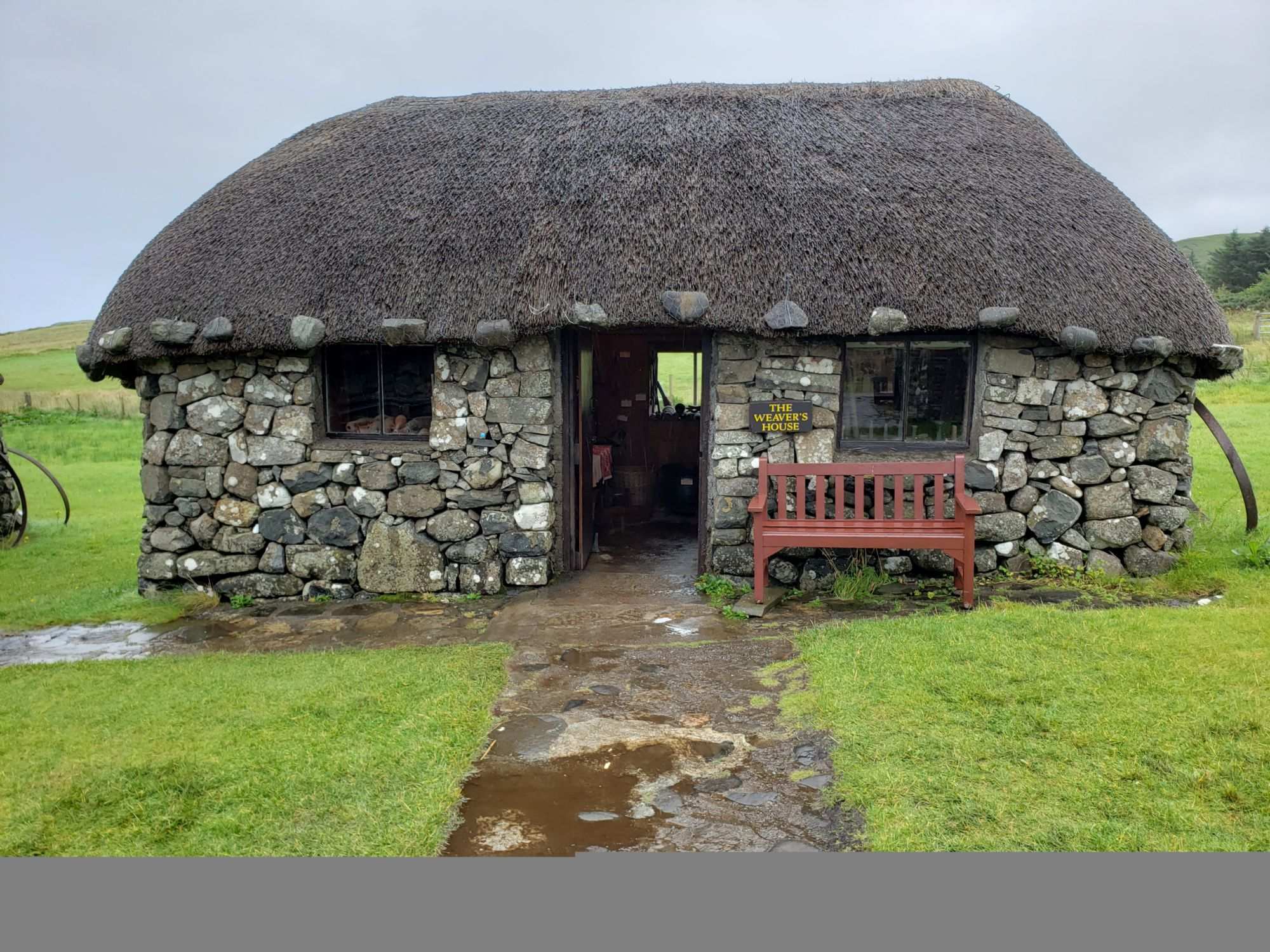 At the Skye Museum of Island L