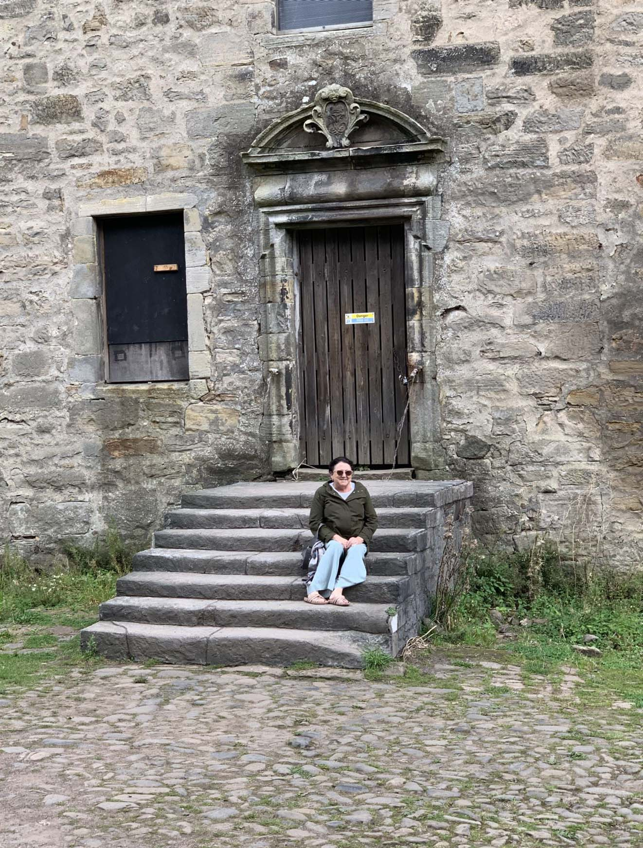 Claire?s Steps Lallybroch