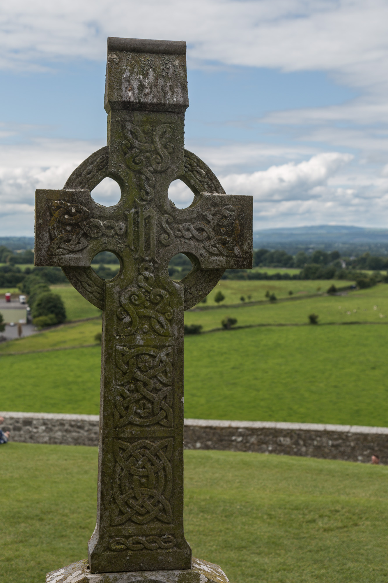 High cross at Rock of Cashel